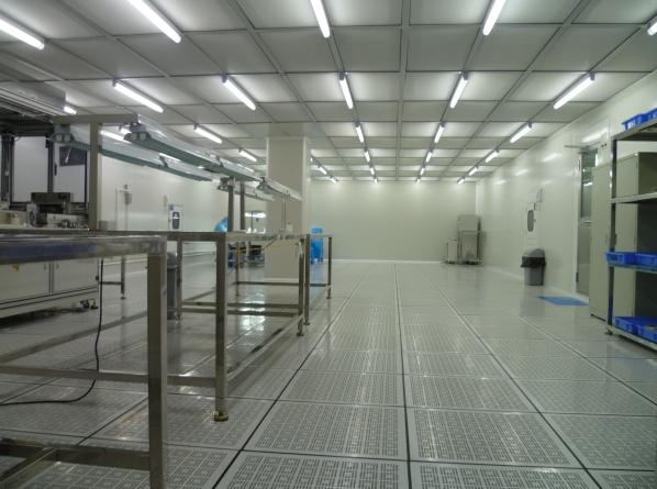 瑞福达百级液晶显示净化车间