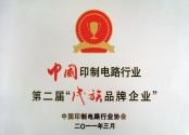 民族品牌企业证书